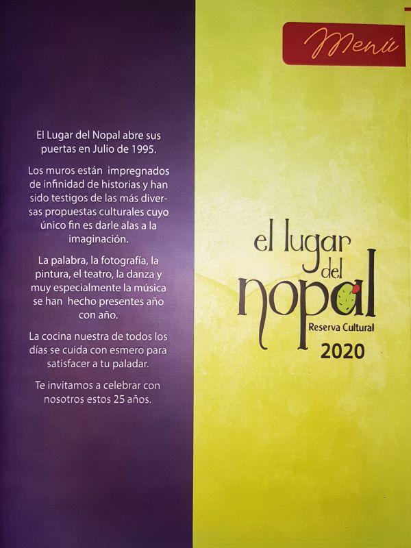 menu 2020
